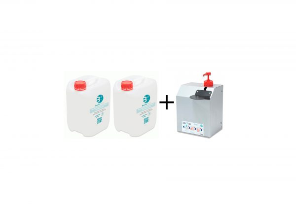 gel hidroalcohólico baena salud dispensador
